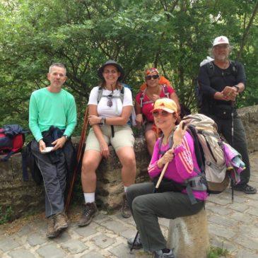 Membros do nosso blog no Caminho de Santiago