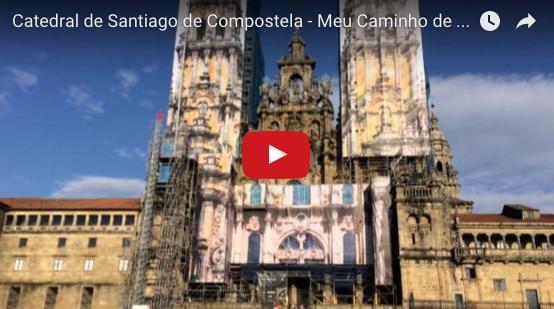 Outra vista da Catedral de Santiago de Compostela