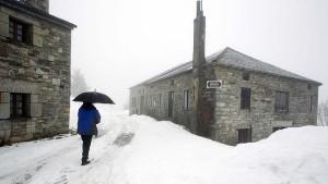 Caminho de santiago inverno