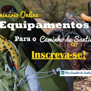 Seminário Online – Equipamentos para o Caminho de Santiago